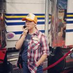 Alice Isn't Dead's Keisha with Truck