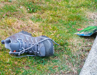 Hiking Boot San Francisco 4/8/2016 by squirrelbrained