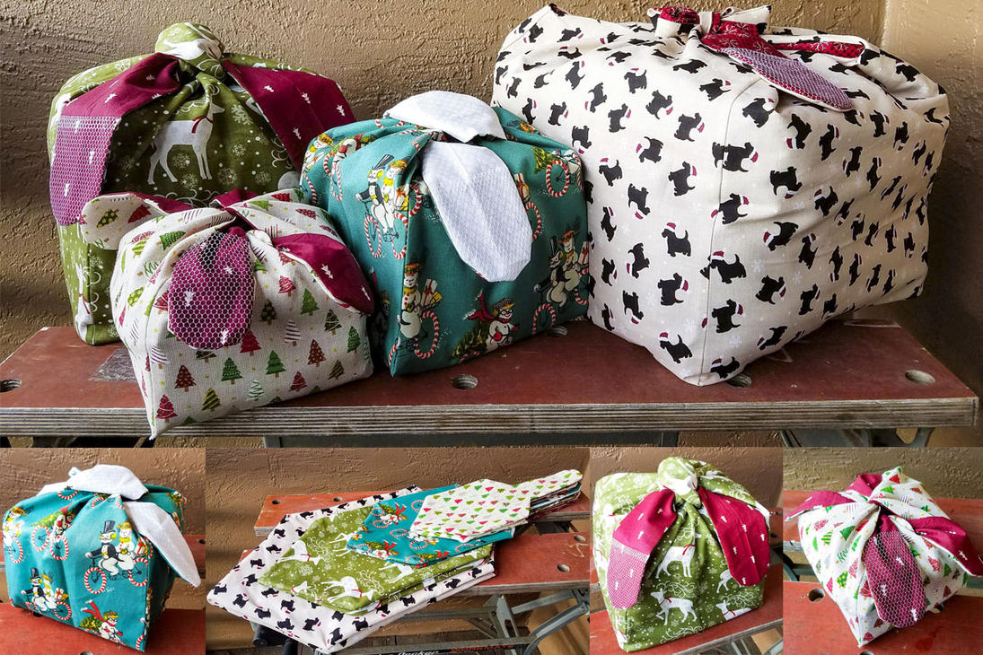 Cubed Gift Bags by squirrelbrained