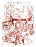 Destruktor sketch by pecart