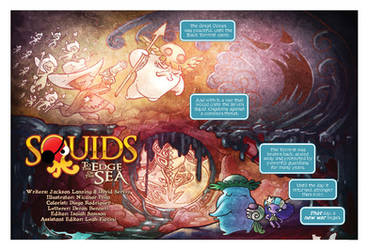 SQUIDS to the edge of the sea first page by pecart