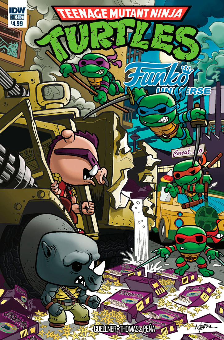 TMNT Funko full cover final by pecart