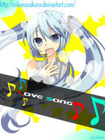 Miku's Love Song by mikanxsakura