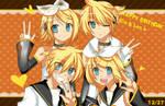 HBD : Kagamine Rin Len