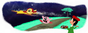 Kirby 64: Goddamnit, Waddle Dee by mightybearrr