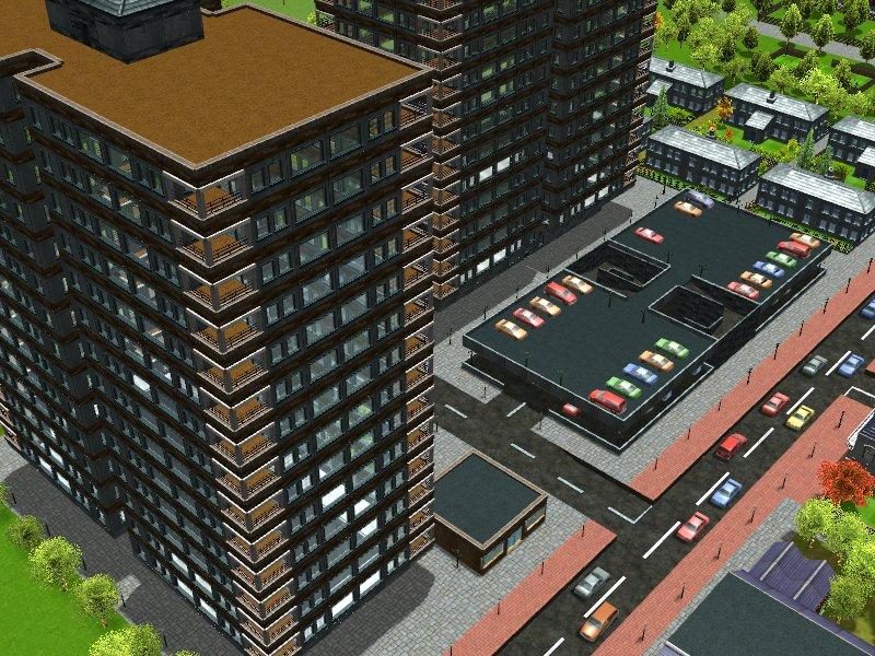 RCT3 - City Scene 13 by alloria-sjg on DeviantArt