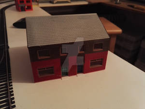 3D Printed Building H2 - Front view