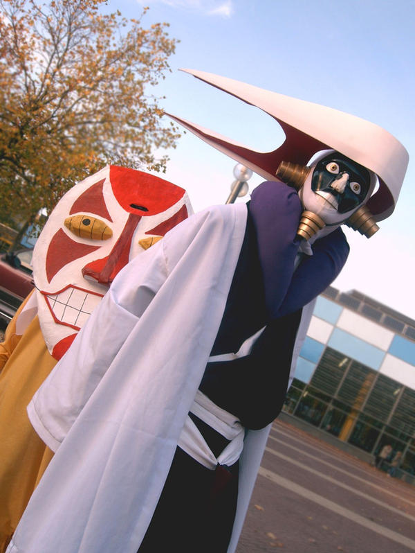 The two masked weirdos by Videros
