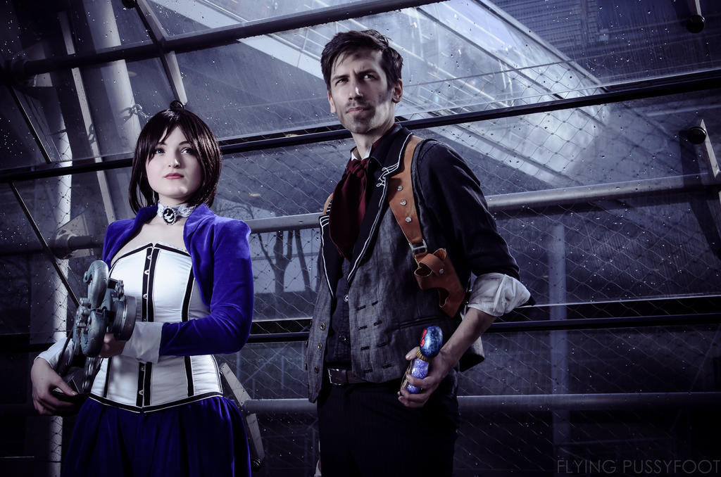 Bioshock: Booker and Elizabeth by Videros