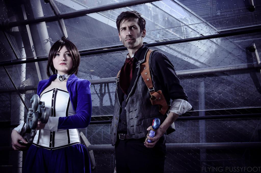 Bioshock: Booker and Elizabeth by Videros