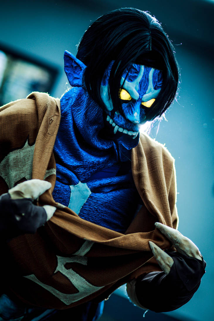 Raziel Cosplay Closeup by Videros