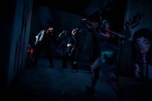 Bioshock Infinite - Splicer Attack