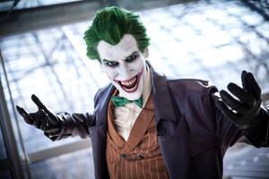 Joker Cosplay Laugh