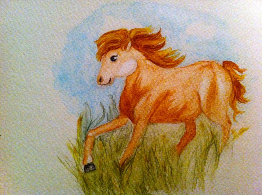 Pony.. by Saltychlo