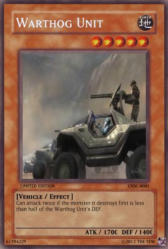 Warthog Unit Card by trfrdavis