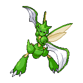 Scyther by RaiuDragon