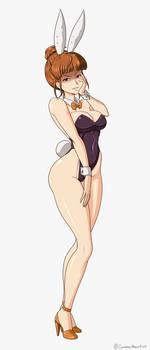 Bunny Girl Eva Ushiromiya