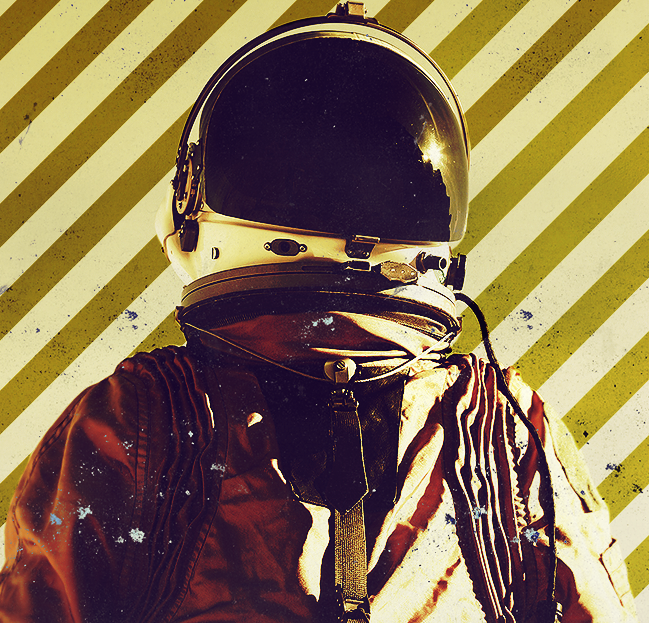 Retro Astronaut by ruh...