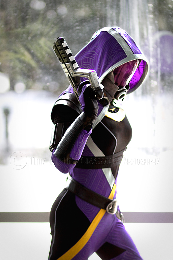 Tali Cosplay - Tali'Zorah vas Normandy by MagpieLaughs