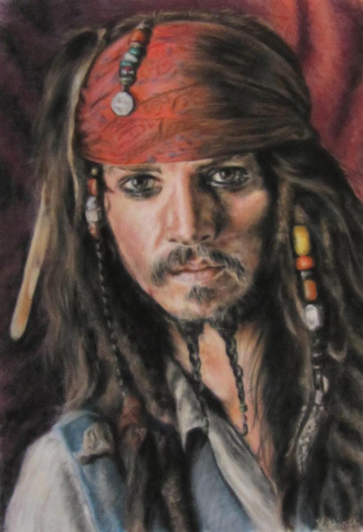 Captain Jack Sparrow by Lorello