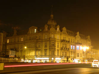 Old tenement Poland in night by DreamingRabit