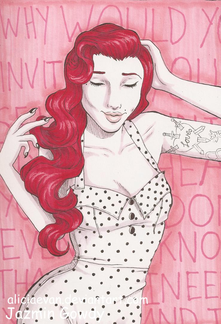 Shy Girl by AliciaEvan