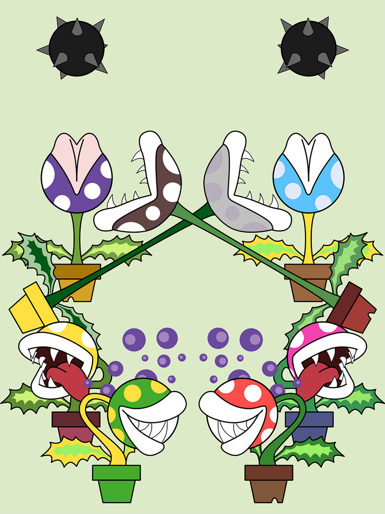Piranha Plant Gang by SinOwl