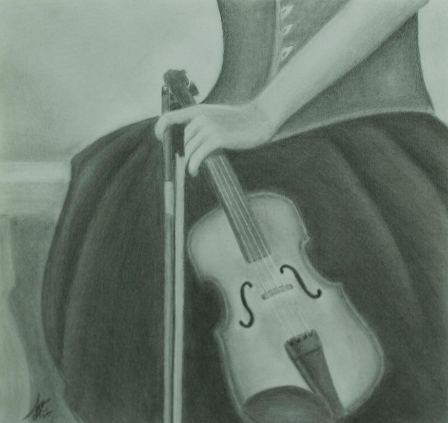 The Violin by abdulhamid-alattar