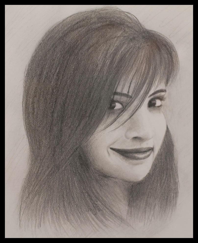 Portrait of Shreeja by abdulhamid-alattar