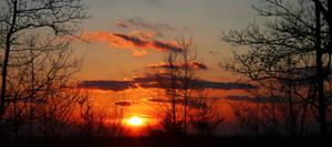 Vibrant Sunset Stock 05
