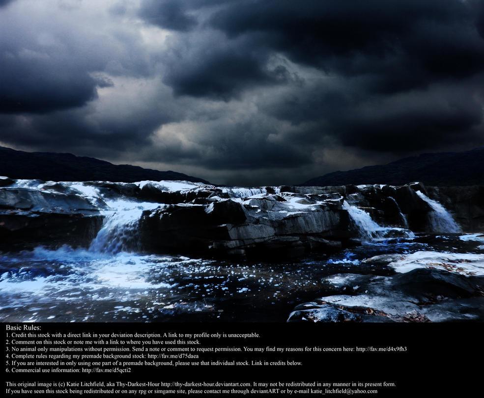 Thunder Falls - Stock by Thy-Darkest-Hour