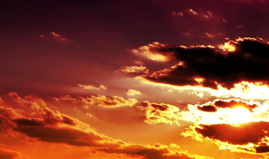 Skies of Fire by Thy-Darkest-Hour