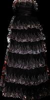 Black Sequen Gown 01
