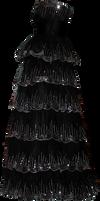 Black Sequen Gown 02 by Thy-Darkest-Hour