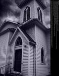 Old Country Church - Stock