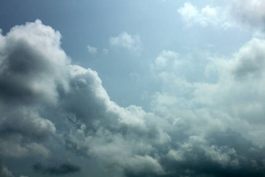 Puffy Clouds - Stock