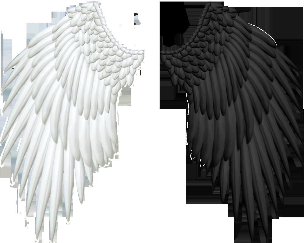 Картинки с крыльями ангела и демона, день рождения