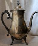 Silver Teapot 05 - Stock