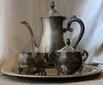 Silver Tea Service 02 - Stock