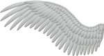 Spread White Wings PNG