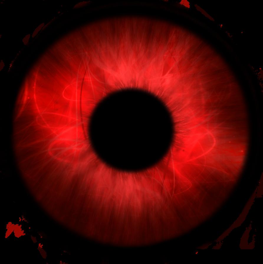 Darkest Cat With Red Eyes