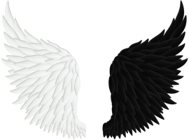 Angel Wings PNG 06 by Thy-Darkest-Hour