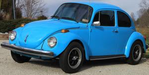 Blue 1976 Volkswagon 02