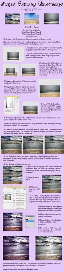 Easy Premade Waterscape BG