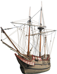 Colonial Ship PNG