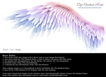 Winged Perfection - Pink-Blue