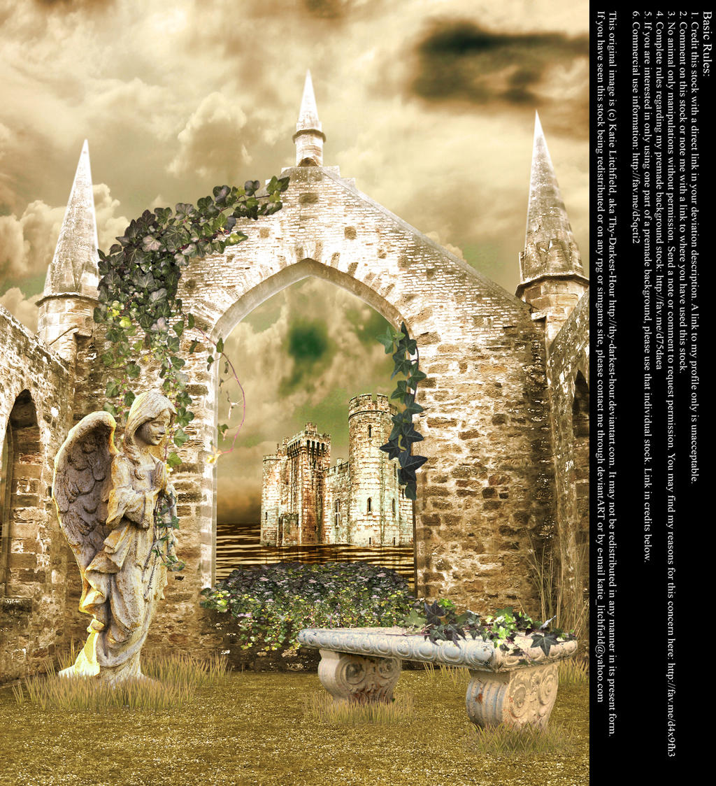 Ruins of Ivy - Stock