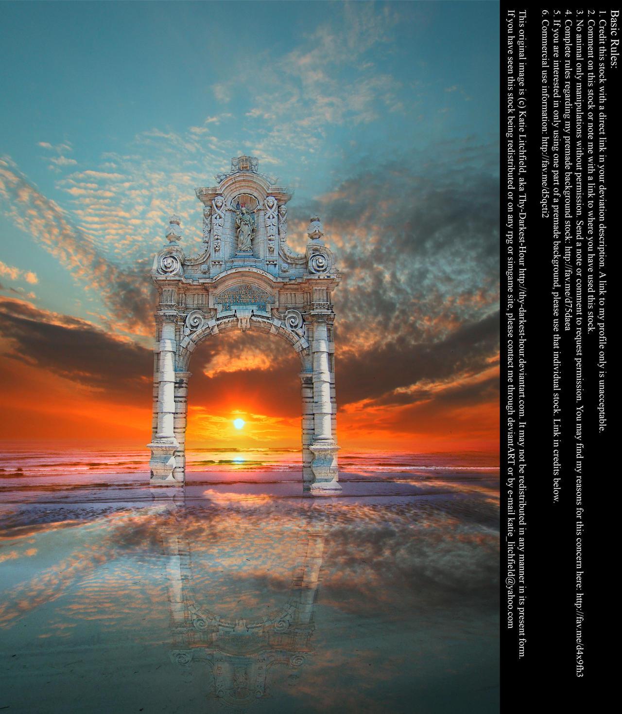 Arch of Heaven - Stock by Thy-Darkest-Hour