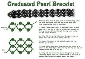 Graduated Peal Bracelet - Free Tutorail by Thy-Darkest-Hour