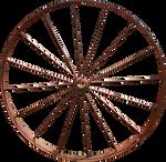 Iron Wagon Wheel PNG